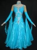 社交ダンス衣装オーダーメイド競技用デモドレス商品番号0046