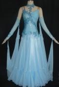 社交ダンス衣装オーダーメイド競技用デモドレス商品番号0031