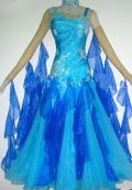 社交ダンス衣装オーダーメイド競技用デモドレス商品番号0029