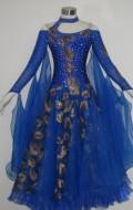 社交ダンス衣装オーダーメイド競技用デモドレス商品番号0061