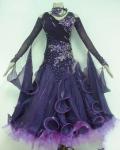 社交ダンス衣装オーダーメイド競技用デモドレス商品番号0054