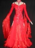 社交ダンス衣装オーダーメイド競技用デモドレス商品番号0047
