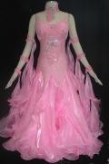 社交ダンス衣装オーダーメイド競技用デモドレス商品番号0042