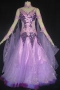 社交ダンス衣装オーダーメイド競技用デモドレス商品番号0041