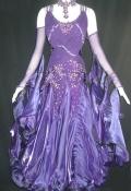 社交ダンス衣装オーダーメイド競技用デモドレス商品番号0043