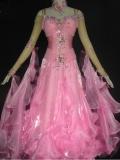社交ダンス衣装オーダーメイド競技用デモドレス商品番号0055