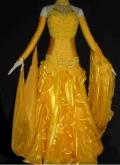 社交ダンス衣装オーダーメイド競技用デモドレス商品番号0039
