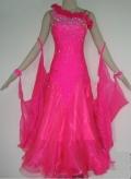 社交ダンス衣装オーダーメイド競技用デモドレス商品番号0028