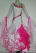 社交ダンス衣装オーダーメイド競技用デモドレス商品番号0030