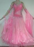 社交ダンス衣装オーダーメイド競技用デモドレス商品番号0051