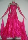 社交ダンス衣装オーダーメイド競技用デモドレス商品番号0040