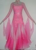 社交ダンス衣装オーダーメイド競技用デモドレス商品番号0034