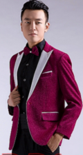 男性カラオケ衣装ジャケット商品番号0007
