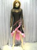 社交ダンス衣装ラテンダンスドレス商品番号0073