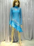 社交ダンス衣装ラテンダンスドレス商品番号0075