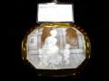 宝石シェルカメオブローチ商品番号0003