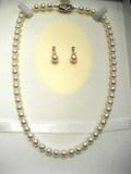 宝石アコヤ真珠ネックレス商品番号0006