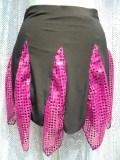ダンスウェアパレオ巻きスカート商品番号0036