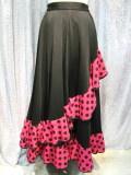 フラメンコ ダンス衣装スカート商品番号0182