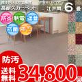 【送料無料】■AS カラーバリエーション豊富♪消臭抗菌エコカーペット 江戸間6畳(261x352) アスシャリオ2
