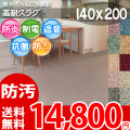 【送料無料】■AS カラーバリエーション豊富♪消臭抗菌エコカーペット(ラグ140×200) アスシャリオ2