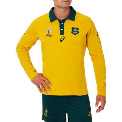 オーストラリア代表 ワラビーズ RWC2019 長袖トラディショナルジャージ