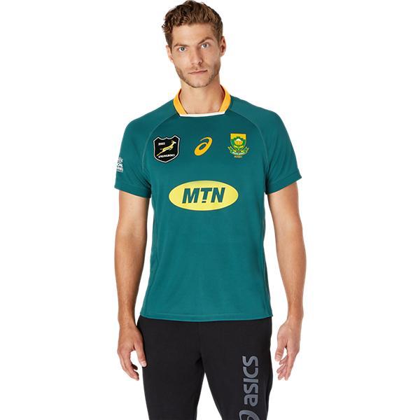 南アフリカ代表 スプリングボクス 2021 Lionsシリーズ レプリカ ホームジャージ