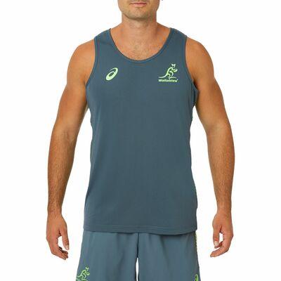 オーストラリア代表 ワラビーズ 19/20 トレーニング シングレット
