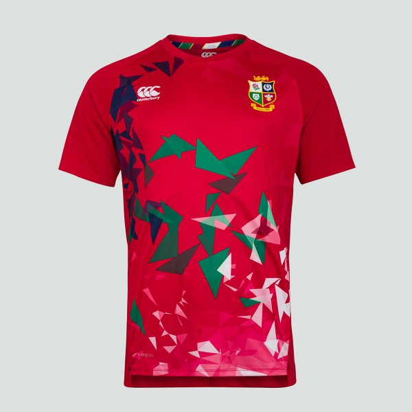 British & Irish Lions 2021 グラフィックTシャツ レッド