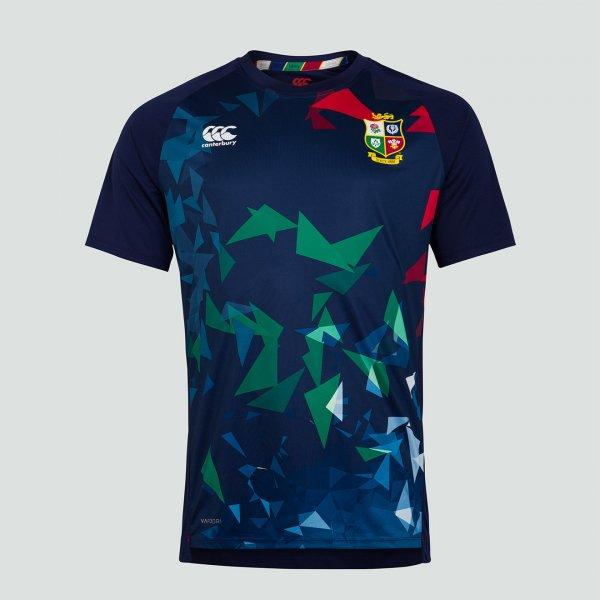 British & Irish Lions 2021 グラフィックTシャツ ネイビー