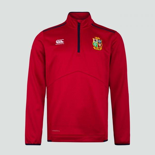 British & Irish Lions 2021 Thermoreg フリースジャケット レッド