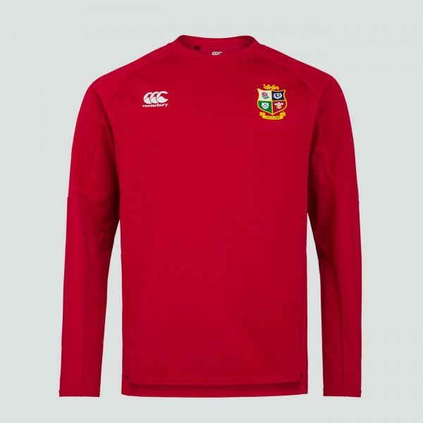 British & Irish Lions 2021 Drill Top レッド