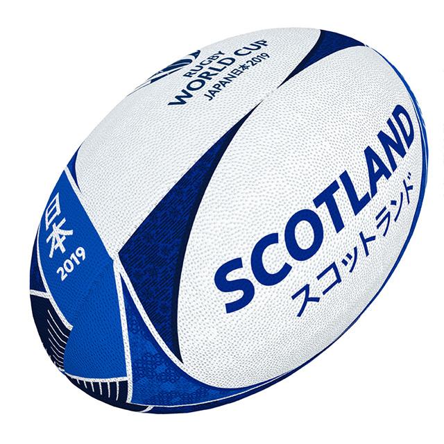 ギルバート製 RWC2019 スコットランド サポーターボール