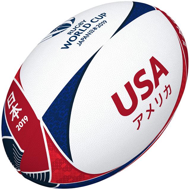 ギルバート製 RWC2019 アメリカ サポーターボール