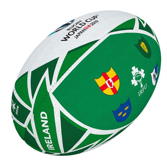 ギルバート製 RWC2019 アイルランド フラッグボール