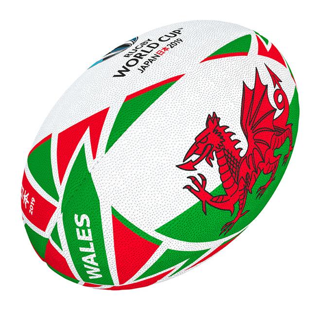 ギルバート製 RWC2019 ウェールズ フラッグボール