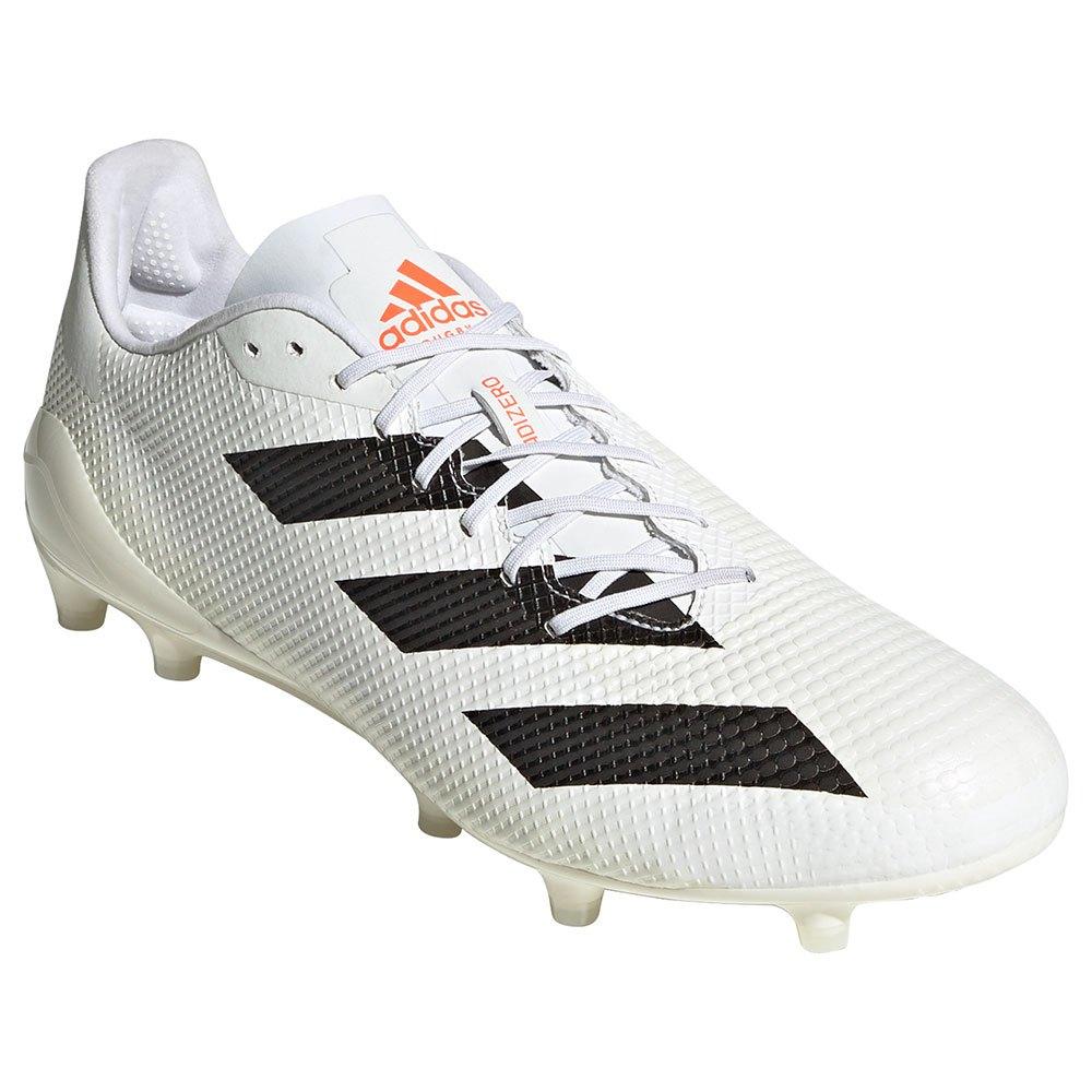 adidas Adizero RS7 FG Rugby フットウェアホワイト