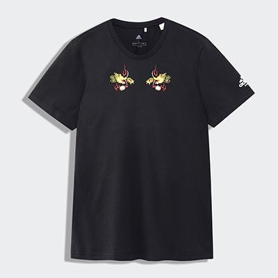 adidas 2019 スカジャン風 Tシャツ 日本限定
