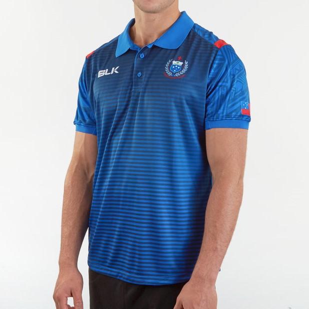 サモア代表 RWC2019 メディアポロシャツ
