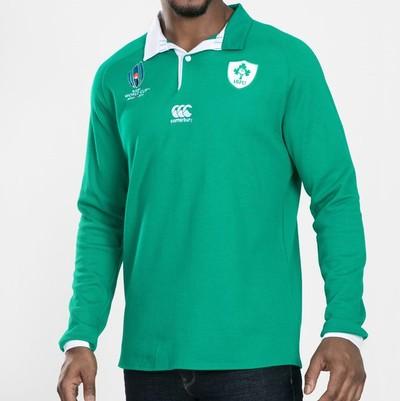 アイルランド代表 RWC2019 クラシック長袖ホームジャージ