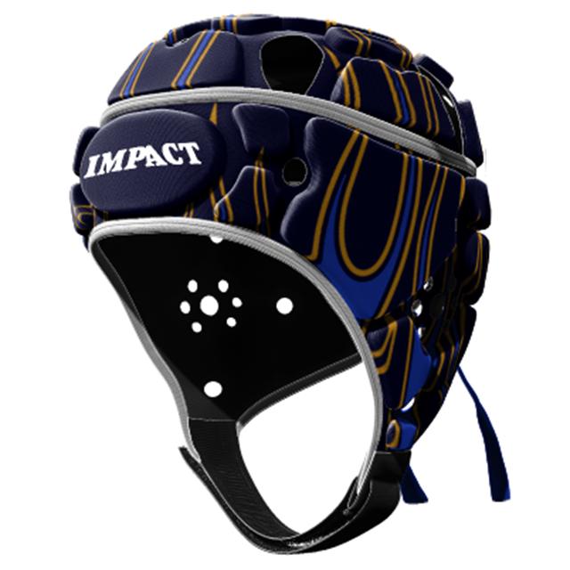 IMPACT V2 Premium Vented フレーム ブルー