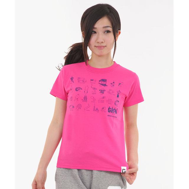 グリフィン GRFN NZ ICONS Tシャツ ピンク 【女性&子供用】