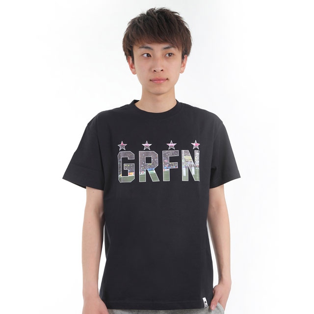 グリフィン GRFN スタジアムTシャツ ブラック