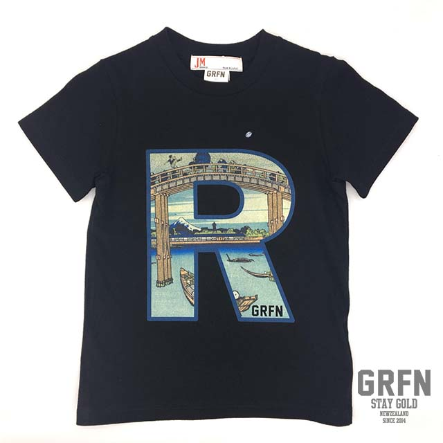 GRFN×JM1 R Tシャツ ブラック