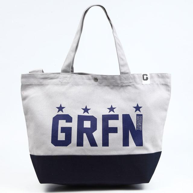 グリフィン GRFN スイッチング トート グレー×ネイビー