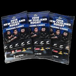 ニュージーランド ラグビー トレーディングカードパック(1パック9枚入...
