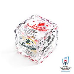 ラグビーワールドカップ2019 オフィシャル アクリルキューブ【全16種】