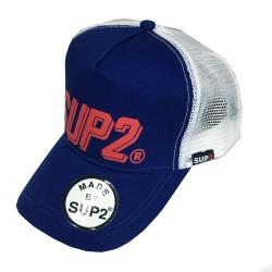 SUP2 Comic Truckersキャップ ブルー