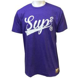 SUP2 Tシャツ Vintage パープル