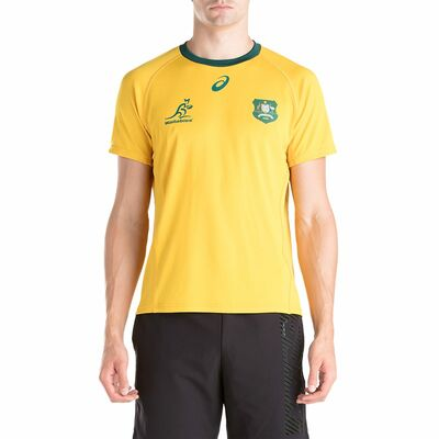 オーストラリア代表 ワラビーズ RWC2019 ホーム ファンTシャツ
